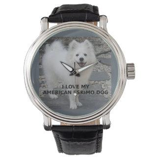 American_Eskimo_Dog_love w pic Watch
