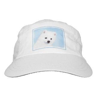 American Eskimo Dog Painting - Original Dog Art Hat