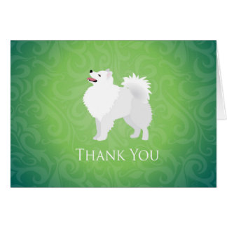 American Eskimo Dog - Thank You Card