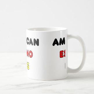 american eskimo flag in name coffee mug