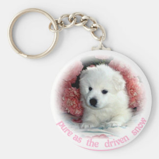 American Eskimo Key Ring