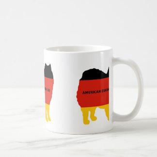 american eskimo name flag silo coffee mug