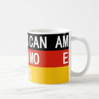 american eskimo name on flag coffee mug