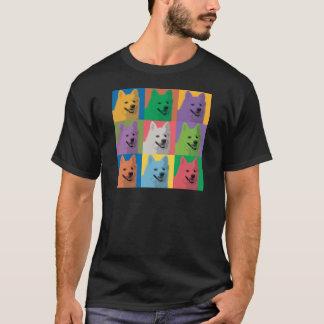 American Eskimo Pop-Art T-Shirt