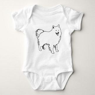 American Eskimo Pride Baby Bodysuit