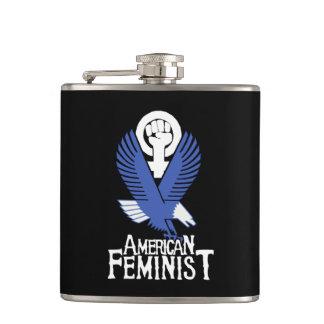 American Feminist Hip Flask