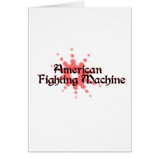 American Fighting Machine Card