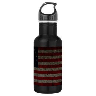 American Flag 13 Star 532 Ml Water Bottle
