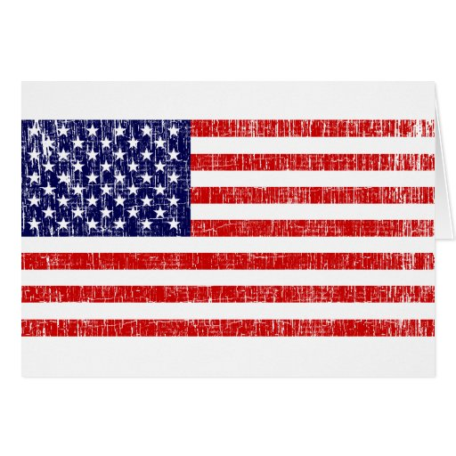 American Flag 1 Greeting Cards