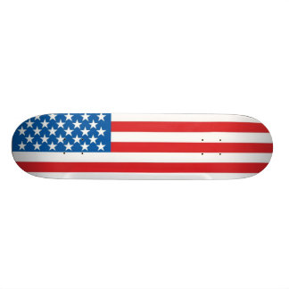 American Flag 20.6 Cm Skateboard Deck