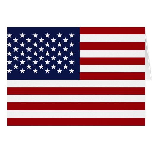 American Flag 2 Card