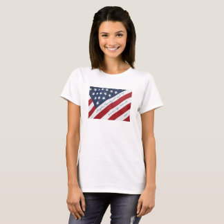 American Flag 4th of July Personalized Tshirt