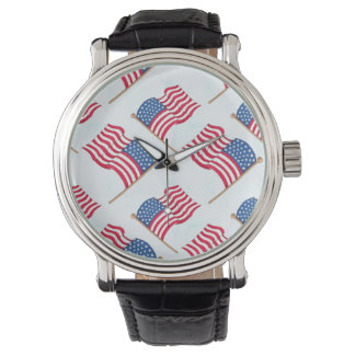 American Flag 4th Of July Red White Blue Watch