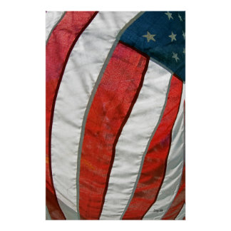 American Flag #90 Poster