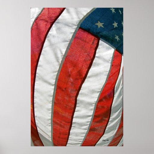 American Flag #90 Print