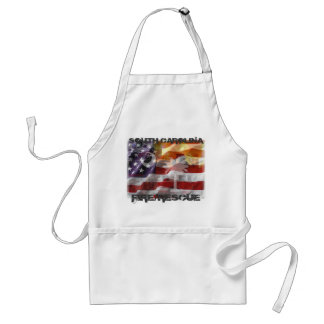 american_flag-971804-2, SOUTH CAROLINA, FIRE/RE... Standard Apron