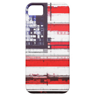 American Flag Abstract iPhone 5/5S Covers