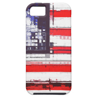 American Flag Abstract iPhone 5 Cover
