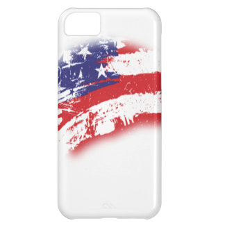 American Flag Abstract Distressed iPhone 5C Case