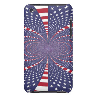 American Flag Abstract iPod Touch Case-Mate Case