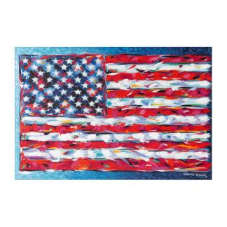 American Flag Acrylic Wall Art