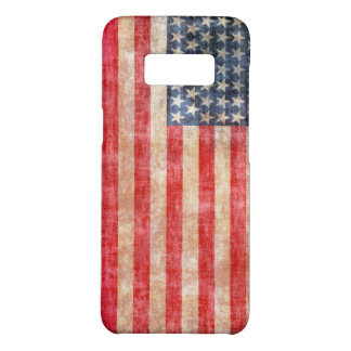 American Flag Aged Case-Mate Samsung Galaxy S8 Case