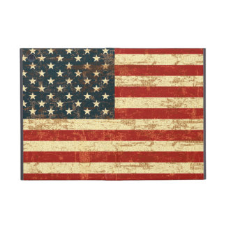 American Flag Aged Distressed iPad Mini Cover