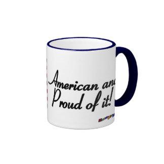 American Flag - American and Proud of it! Mug