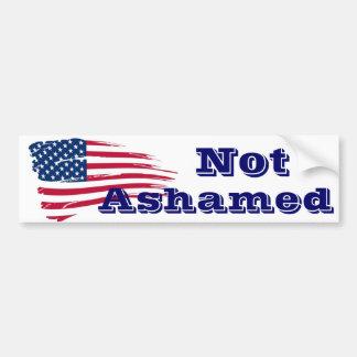 American Flag American Pride Bumper Sticker