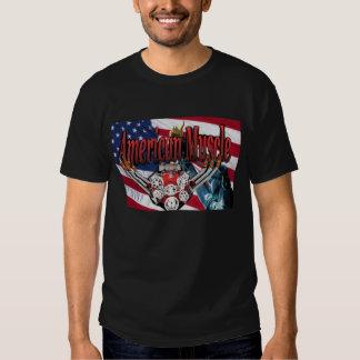 american-flag , Amerrican Muscle, Old Fast Cars Tees