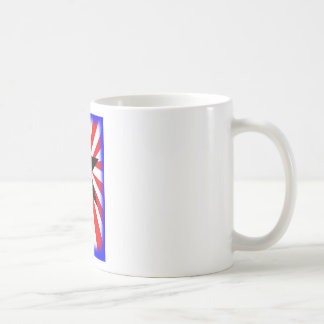 american flag and the Bald eagle Coffee Mugs