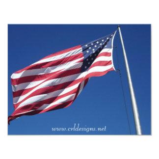 American Flag Announcements