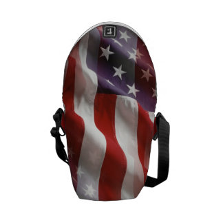 American Flag Back Pack Commuter Bags