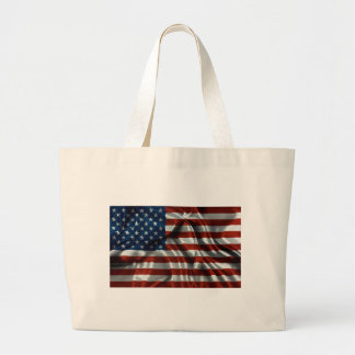 American Flag Canvas Bags
