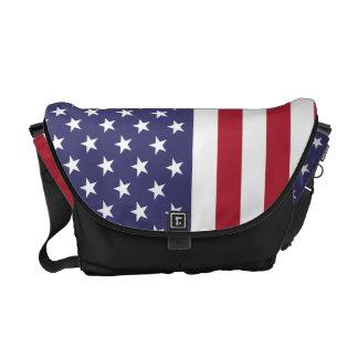 American Flag Bag Commuter Bag