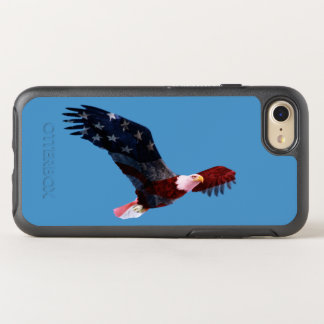 American Flag Bald Eagle OtterBox Symmetry iPhone 7 Case