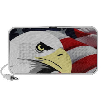 American Flag/Bald Eagle Portable Speakers