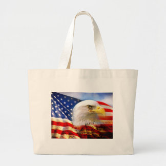 American Flag Bald Eagle Bag