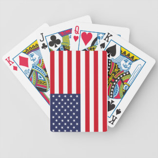 American flag bicycle playing cards