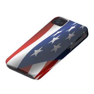 American Flag BlackBerry Bold Case-Mate iPhone 4 Cases