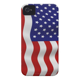 American Flag BlackBerry Cases