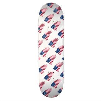 American Flag Board Skateboard