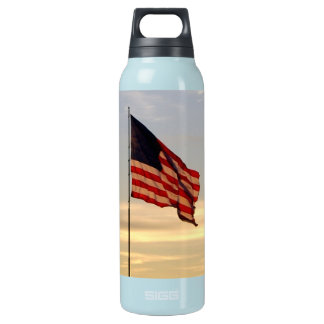 american flag bottle 0.5L insulated SIGG thermos water bottle