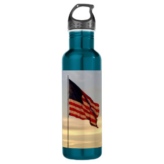 american flag bottle 710 ml water bottle