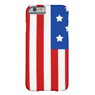 American Flag Bright and Bold Barely There iPhone 6 Case