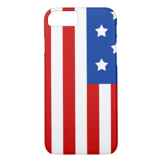 American Flag Bright and Bold iPhone 7 Case