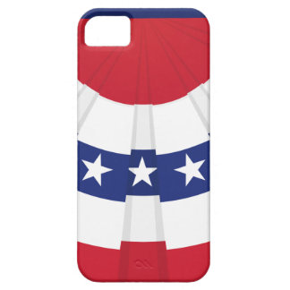 American Flag Bunting iPhone 5 Case