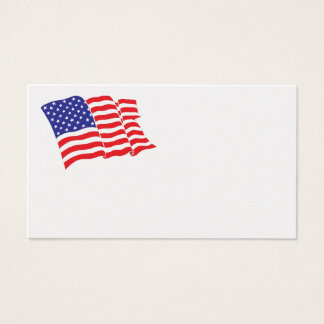 American-Flag Business Card