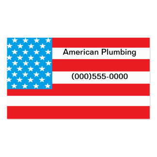 """American Flag"" Business Card"