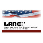 American Flag Business Card Template